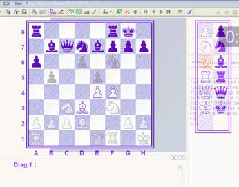 A free positions Chess editor tool